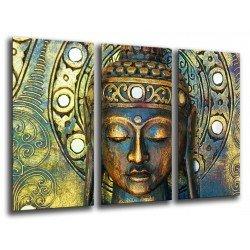 Cuadro Moderno Fotografico base madera, Buda Buddha, relajacion, relax