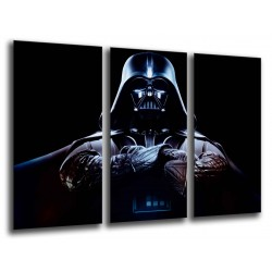 Cuadro Moderno Fotografico base madera, Star Wars, Darth vader