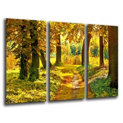 MULTI Wood Printings, Picture Wall Hanging, Landscape Forest Atardecer