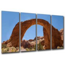 MULTI Wood Printings, Picture Wall Hanging, Desert, Bridge Arcoiris