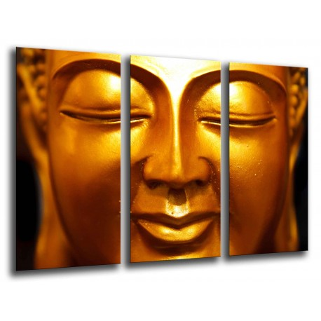 MULTI Wood Printings, Picture Wall Hanging, Buda Buddha, relaxation, relax