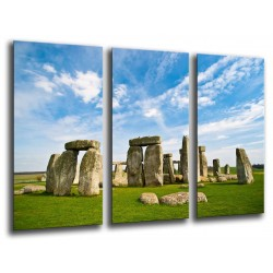 MULTI Wood Printings, Picture Wall Hanging, Landscape Stonehenge, Inglaterra