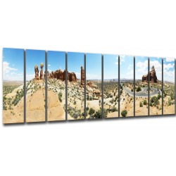 MULTI Wood Printings, Picture Wall Hanging, Arches National Park, Parque National of Arcos