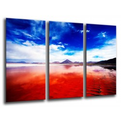 MULTI Wood Printings, Picture Wall Hanging, Landscape lake Colorada