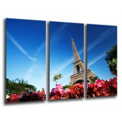 MULTI Wood Printings, Picture Wall Hanging, Landscape, Paris, France