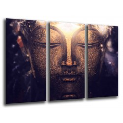 MULTI Wood Printings, Picture Wall Hanging, Buda Buddha, relaxation,Relax