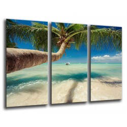 MULTI Wood Printings, Picture Wall Hanging, Landscape Beach Tropical