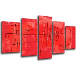 MULTI Wood Printings, Picture Wall Hanging, Wall Print Art Abstracto