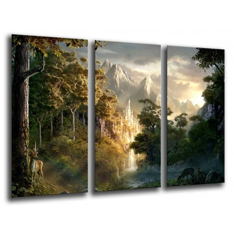 MULTI Wood Printings, Picture Wall Hanging, the Lord of The Anillos