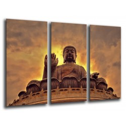 MULTI Wood Printings, Picture Wall Hanging, Buda Buddha, relaxation, Relax, Zen
