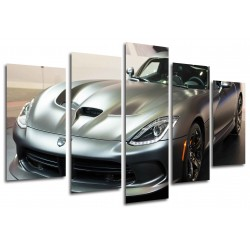 MULTI Wood Printings, Picture Wall Hanging, Car Dodge Viper