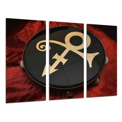 MULTI Wood Printings, Picture Wall Hanging, Prince, The Symbol