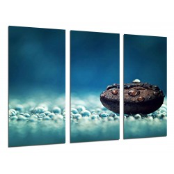 MULTI Wood Printings, Picture Wall Hanging, relaxation, Zen, Relax