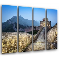 MULTI Wood Printings, Picture Wall Hanging, Landscape Wall China Atardecer