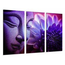 MULTI Wood Printings, Picture Wall Hanging, Buda, Buddha, relaxation, Zen, Relax