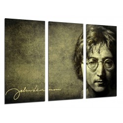 MULTI Wood Printings, Picture Wall Hanging, John Lennon, The Beatles, Leyend Musica